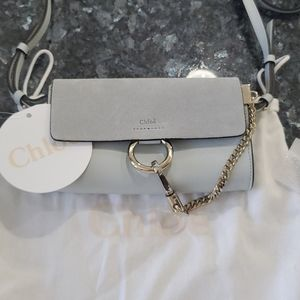 Chloé Faye mini crossbody bag.